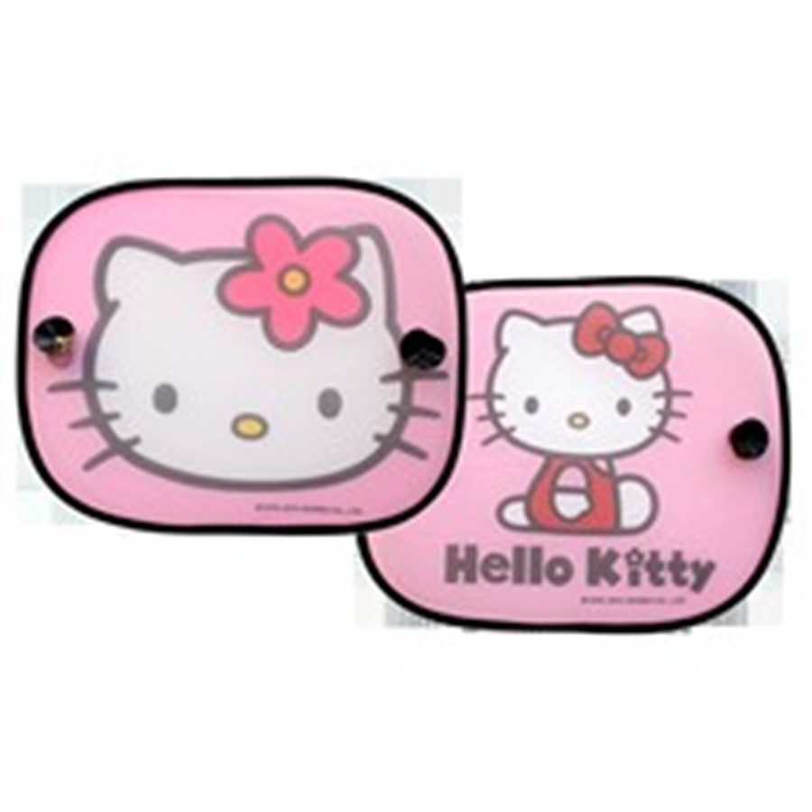 2 cortinas laterais HELLO KITTY