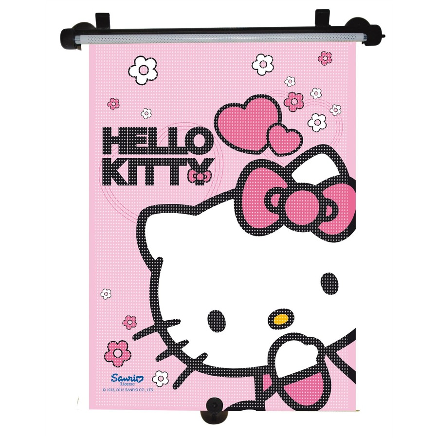 1 cortina enrolável HELLO KITTY 50x36 cm