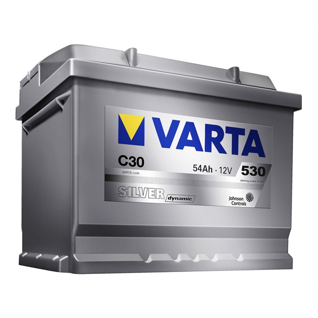 BATER/ÍA COCHE VARTA SILVER DYNAMIC 12V 54AH C30