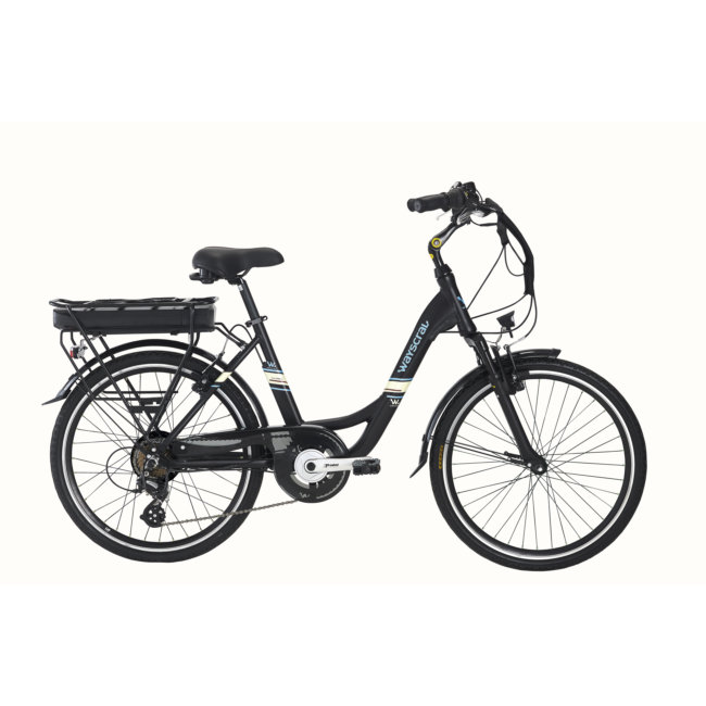 Bicicleta Eléctrica Wayscral Everyway E200 24 Preta (bateria Incluída)