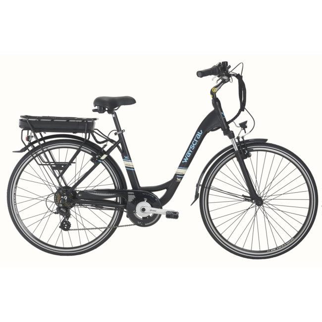 Bicicleta Eléctrica Wayscral Everyway E200 28 Preta (batería Incluida)
