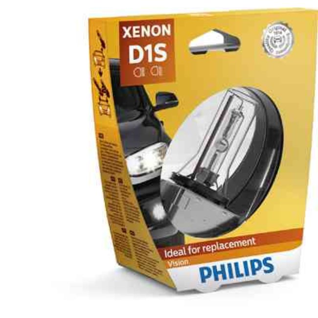 1 Lâmpada Xenon Philips D1s Vision 35w 85v